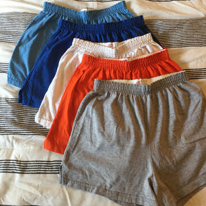 5, Classic Soffe Shorts